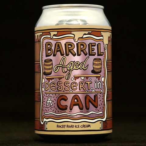 Amundsen - Barrel Aged Dessert In A Can: Rocky Road Ice Cream - 11.5% (330ml)