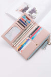 Women Clutch Wallet Leather