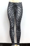 Weave Print Fitness Leggings