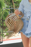 Retro Bamboo Basket