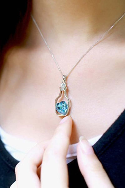 Love Drift Bottles Pendant Necklace
