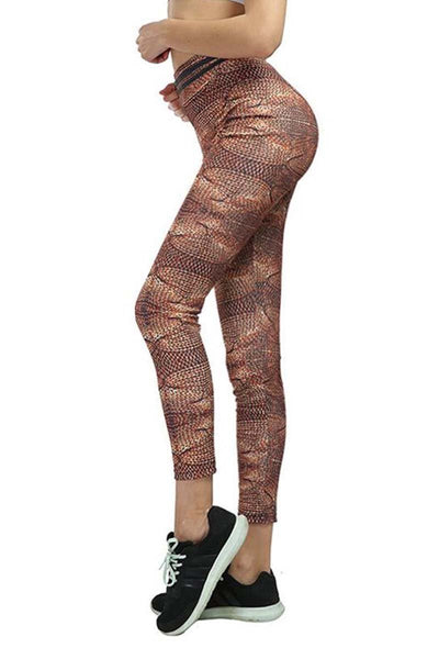 Egyptian Rope Print Leggings