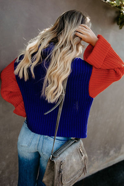Colour Block Sweater