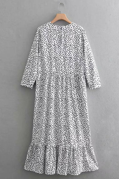 Polka Dot Gypsy Dress