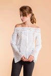 Vintage Summer Lace Blouse