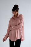Ksusha Satin Loose Fit Shirt