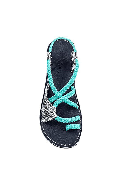 Braided Beach Sandals