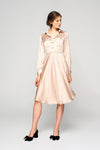 Ksusha Silky Shirt Dress