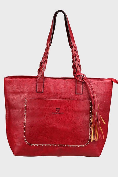 EveryDay Leather Tote Bag-Loosely Store