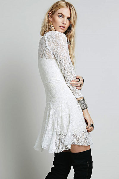 Dress Midi in Lace