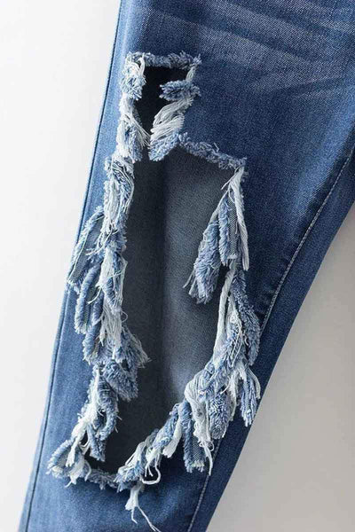 Frayed Jeans