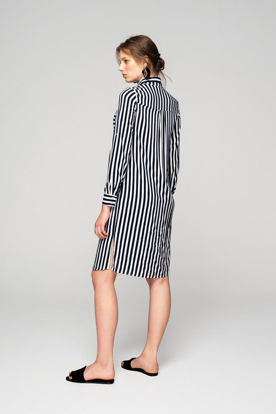 Ksusha Simple Shirt Dress