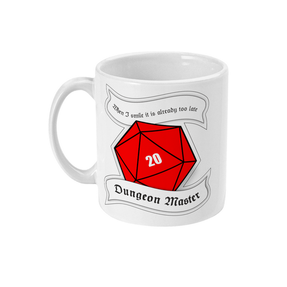 Red Berry Crafts Ltd:Dungeon Master 11oz Ceramic Mug