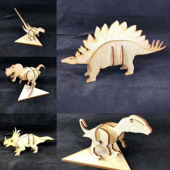 Red Berry Crafts Ltd:Dinosaur 3D Puzzle Kits