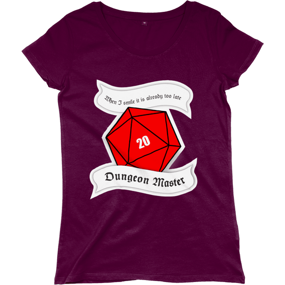 Red Berry Crafts Ltd:Dungeon Master Women's Regular Fitted T-shirt