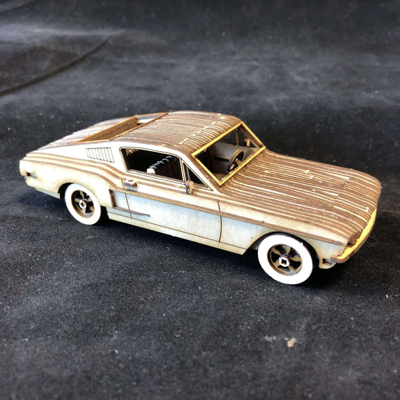 Red Berry Crafts Ltd:1968 Ford Mustang GT Model Kit