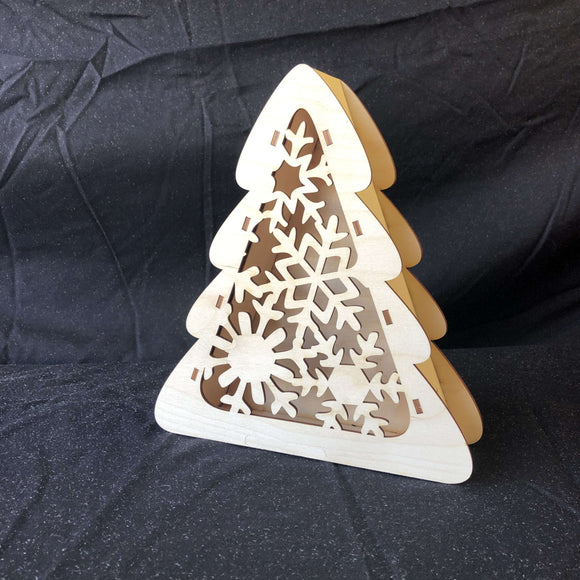 Red Berry Crafts Ltd:Christmas Tree Box