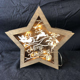 Red Berry Crafts Ltd:Light up Star Decoration