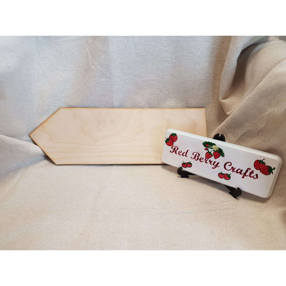 Red Berry Crafts Ltd:Blank Signpost Arrow