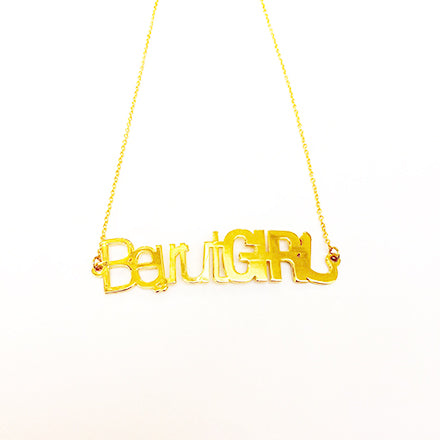 Beirut Girl Necklace