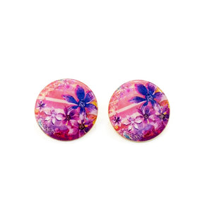 The Violet Orchid Earrings