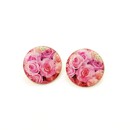 Gently Pink Earrings