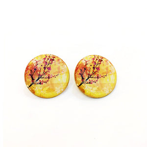 Japanese Winter Earrings