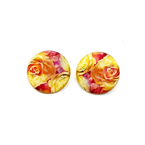 The Warm Roses Earrings
