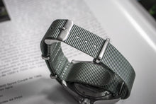 Enoksen G10 NATO Nylon Watch Strap (20mm) - Admiralty Grey