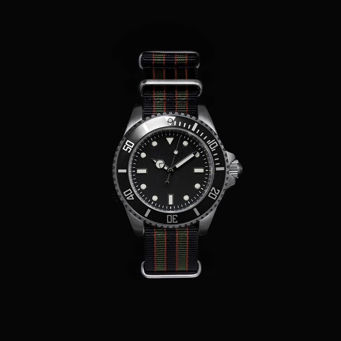 Enoksen 'Dive' E02/JB - Hybrid Diver's Watch - 41mm
