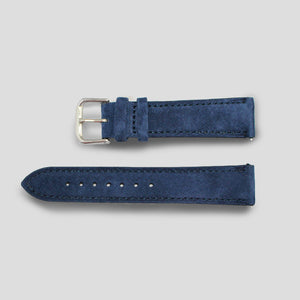 Enoksen Blue Suede Watch Strap (20mm)