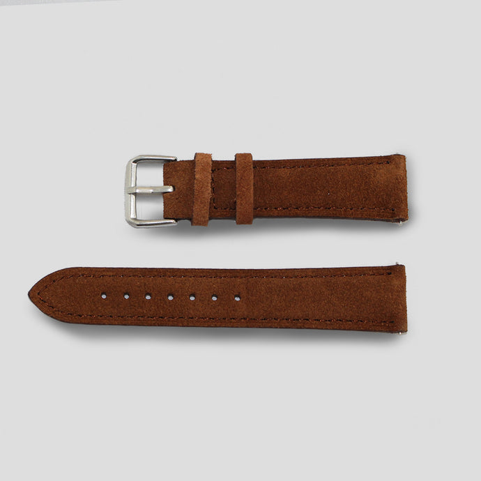 Enoksen Brown Suede Watch Strap (20mm)