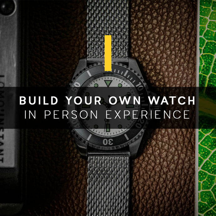 Build Your Own Watch Experience