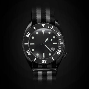 Enoksen 'Deep Dive' E01/B SP - Black Edition - 44mm