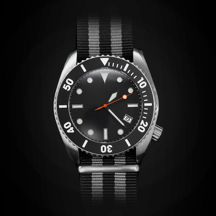 Enoksen 'Deep Dive' E01/F SP - Diver's Watch - 44mm
