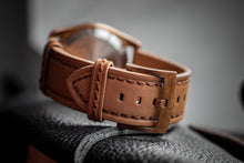 Enoksen Tan Suede Watch Strap (20mm and 24mm)