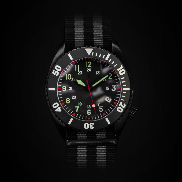 Enoksen 'Deep Dive' E01/SF - Black Edition - 44mm