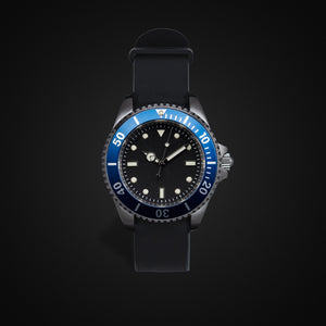 Enoksen 'Dive' E02/H Blue - Hybrid Diver's Watch - 40mm
