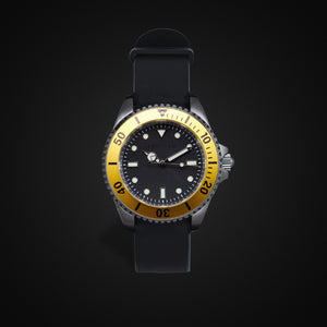 Enoksen 'Dive' E02/H Yellow - Hybrid Diver's Watch - 40mm