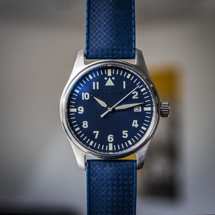 Enoksen 'Fly' E03/E - Blue Special Edition - 39mm