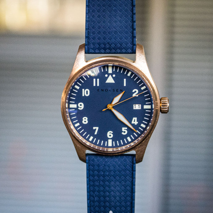Enoksen 'Fly' E03/F - Mechanical Pilot's Watch - 39mm