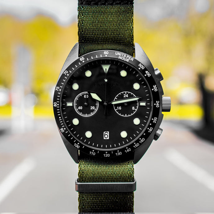Enoksen 'Drive' E04/A - Duty Chronograph - 43mm