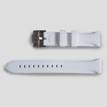 Enoksen Two Piece Rubber Watch Strap - White (20mm)