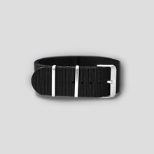 Enoksen G10 NATO Nylon Watch Strap (24mm) - Black