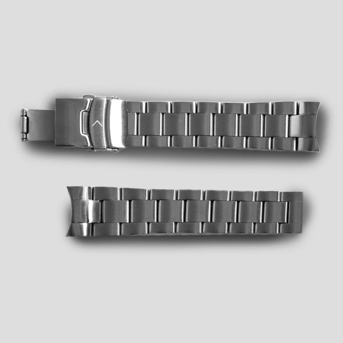 Enoksen Tapered Oyster Steel Bracelet (20mm)