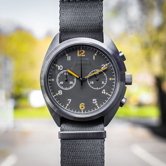 Enoksen 'Fly' E03/D - Pilot's Duty Chronograph - 43mm