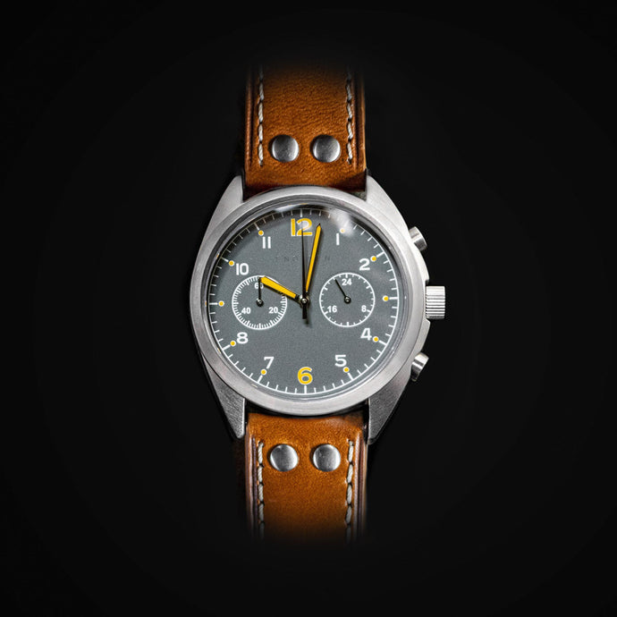 Enoksen 'Fly' E03/D - Pilot's Chronograph Watch - 43mm
