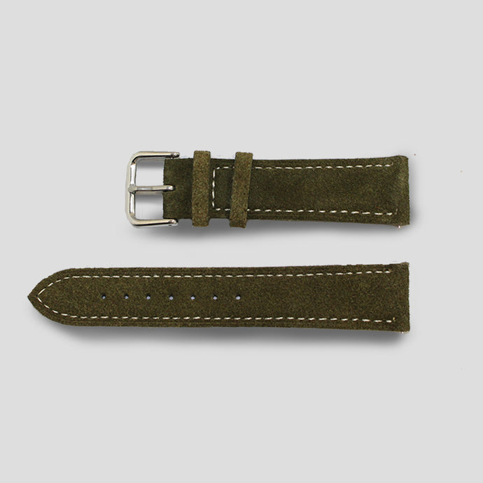 Enoksen Green Suede Watch Strap (20mm)