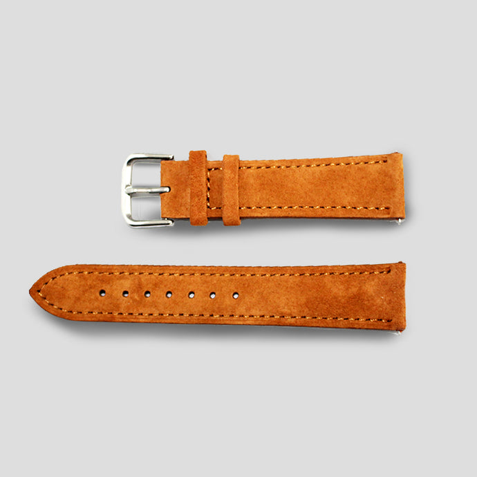 Enoksen Tan Suede Watch Strap (20mm)