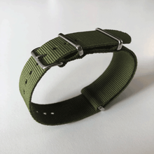 Enoksen G10 NATO Nylon Watch Strap (24mm) - Olive